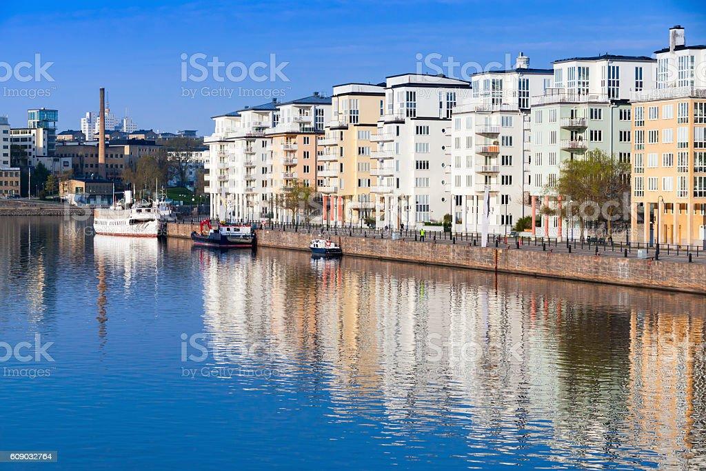 Stockholm. Sodermalm district cityscape stock photo