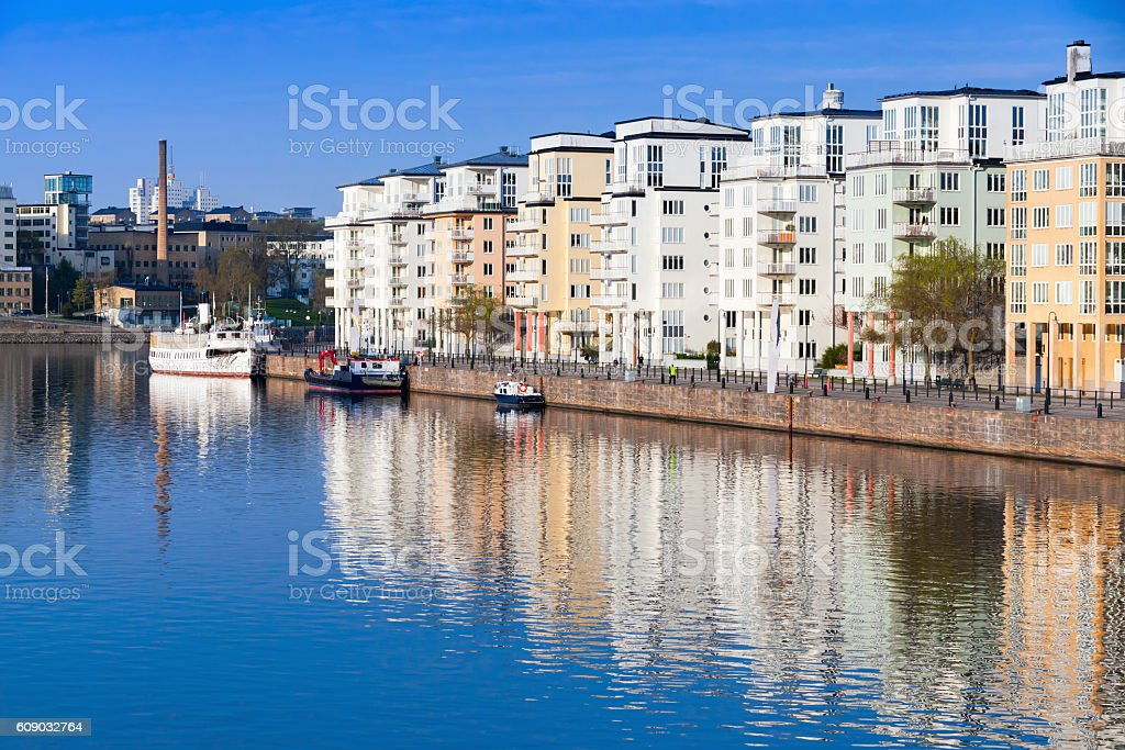 Stockholm. Sodermalm district cityscape stock photo