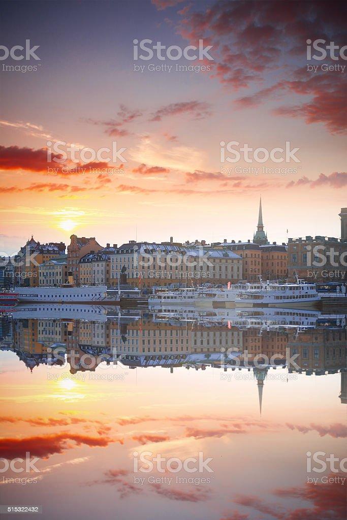 Stockholm, Sweden cityscape stock photo