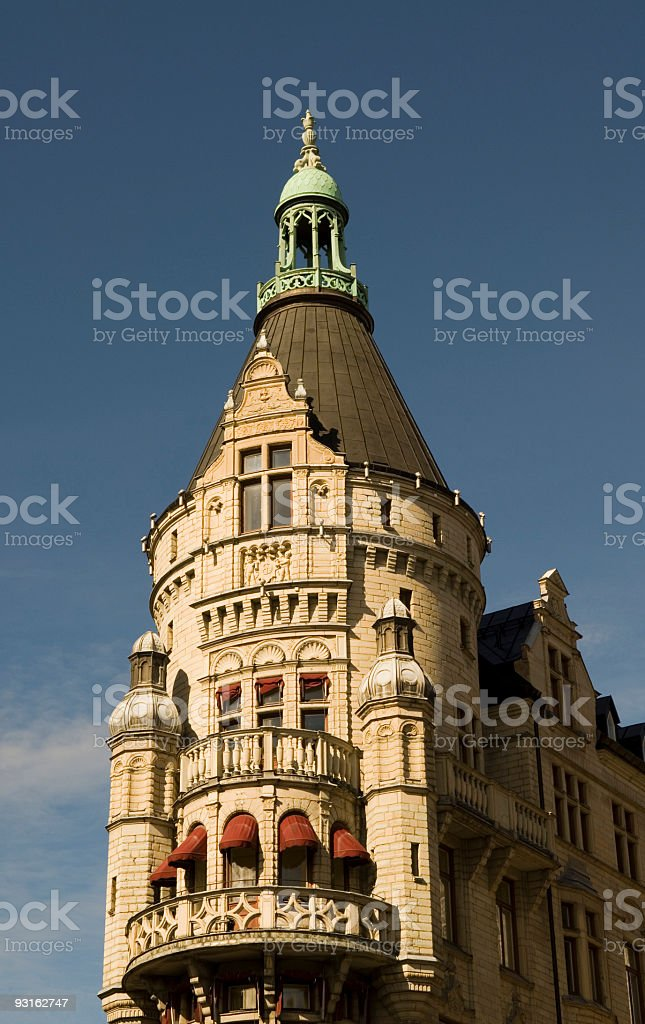 Stockholm Sweden House in City Center royalty-free stock photo