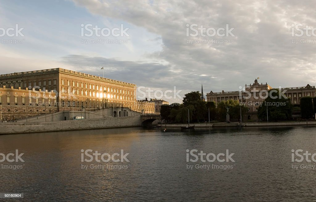 Stockholm Sweden Monuments royalty-free stock photo