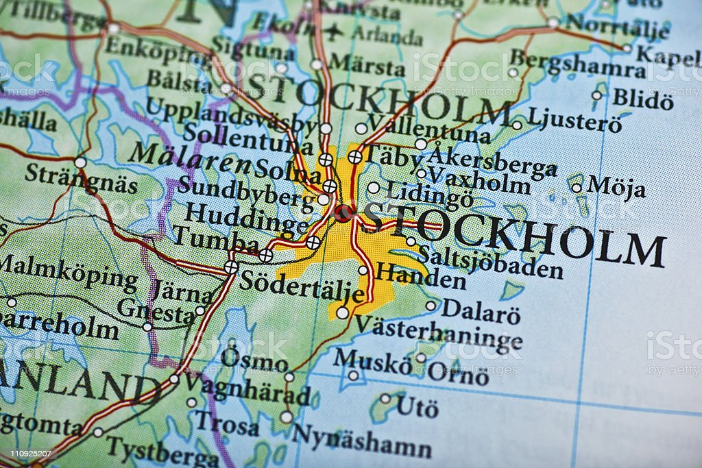 Stockholm, Sweden stock photo