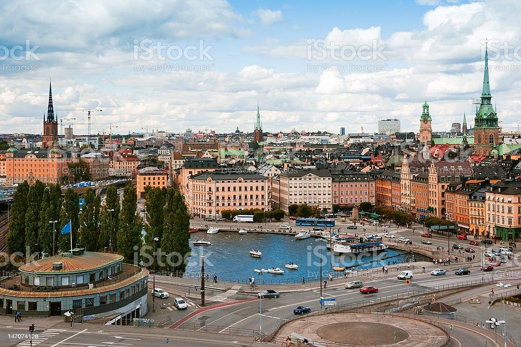 Stockholm. Sweden royalty-free stock photo
