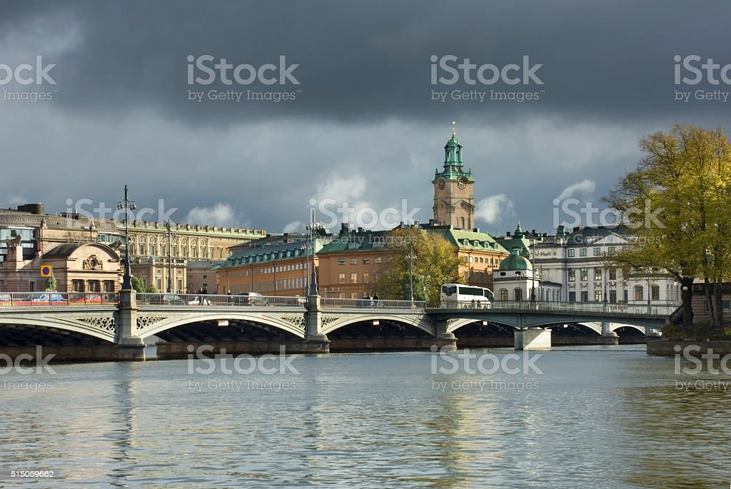 Stockholm. Sweden stock photo