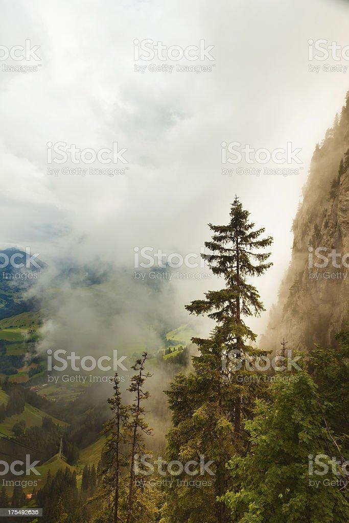 Stockhorn mountain range royalty-free stock photo