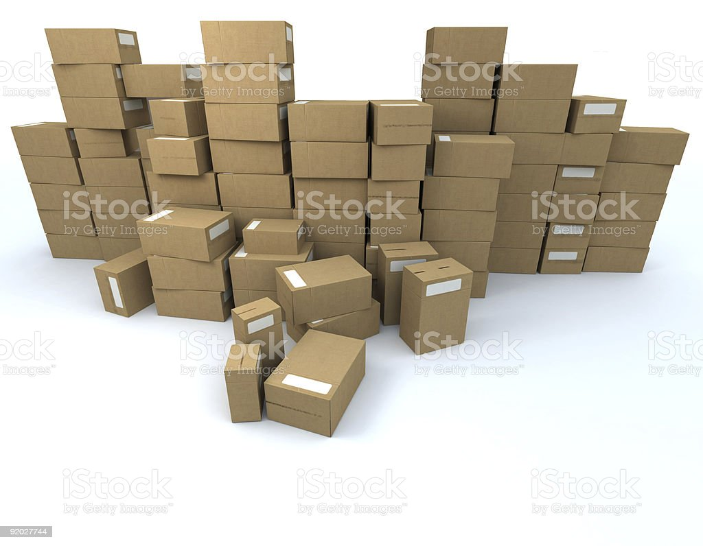 Stockpile royalty-free stock photo