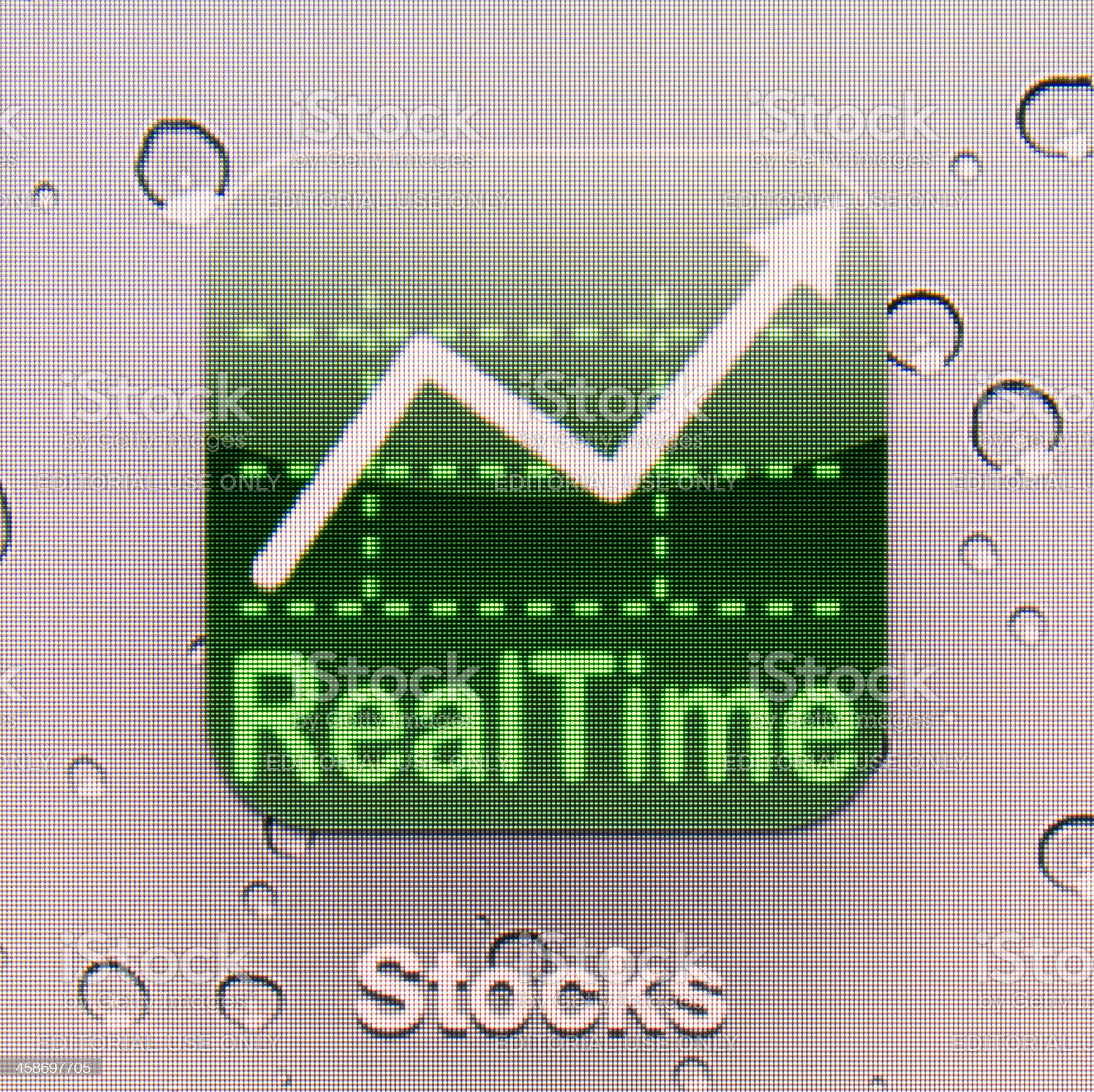 Stocks royalty-free stock photo