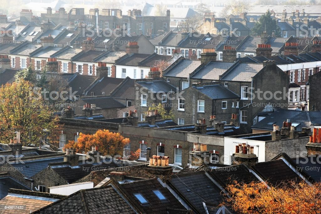Stockwell Roofs stock photo