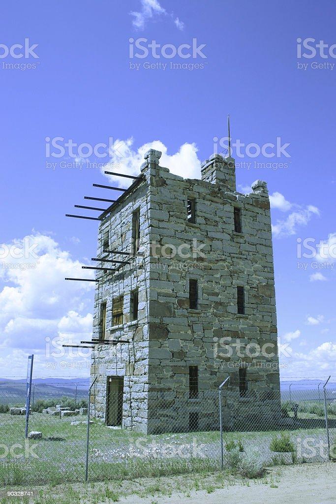 Stokes Castle stock photo