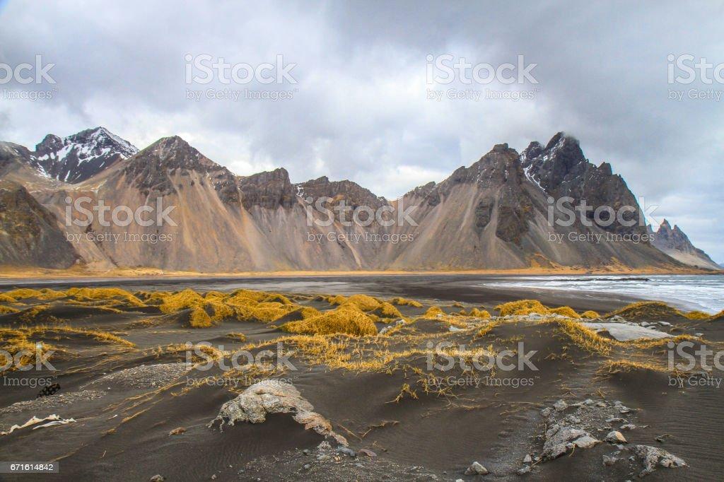 Stokksnes Iceland stock photo