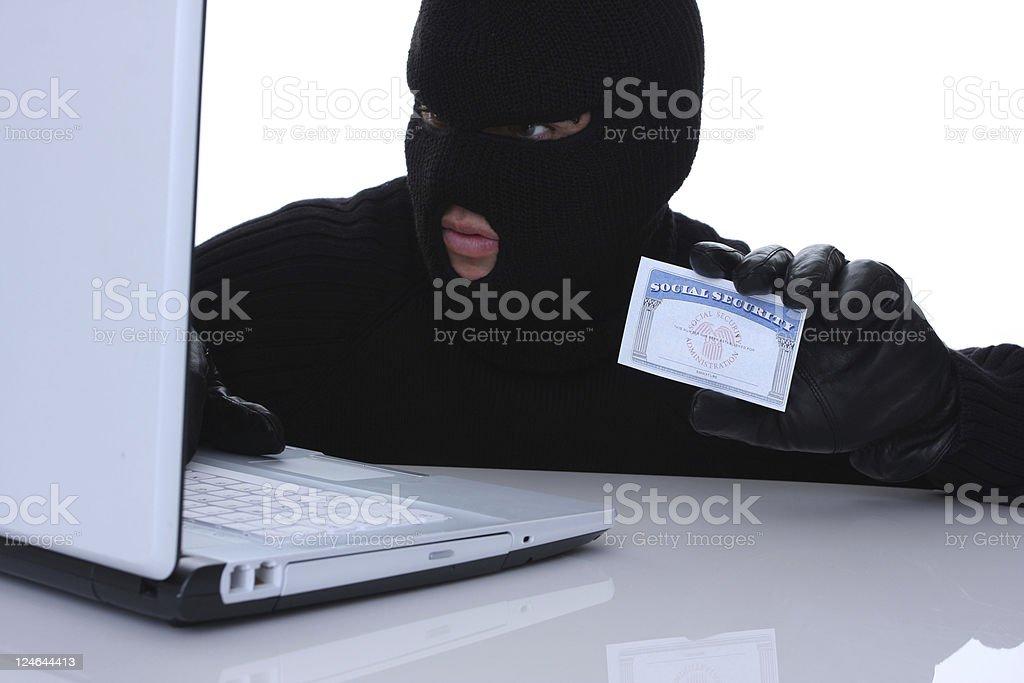 stolen identity royalty-free stock photo