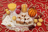 Stollen Cakes and Egg Nog
