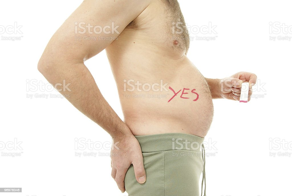 stomach royalty-free stock photo