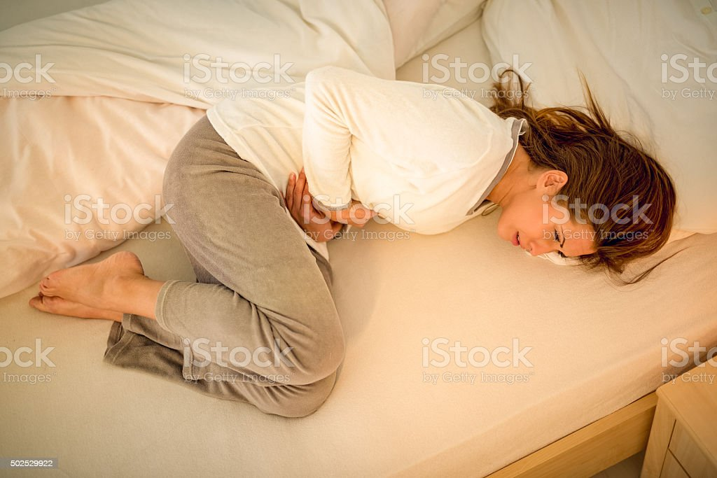 Stomach Problem stock photo