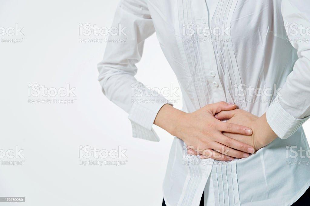 stomachache stock photo