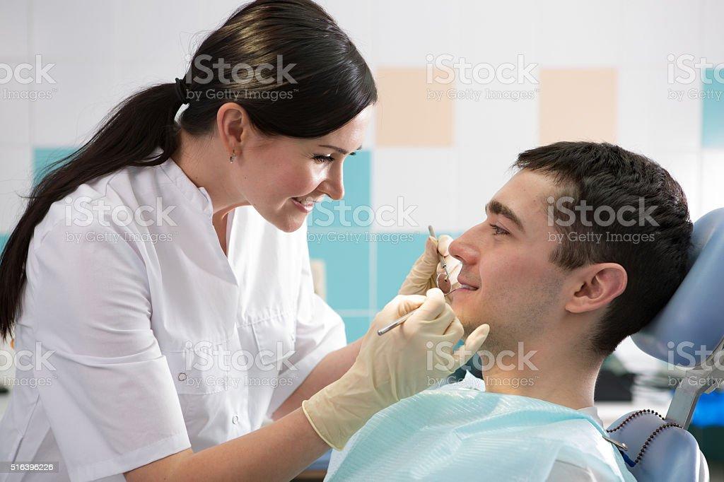 stomatology stock photo