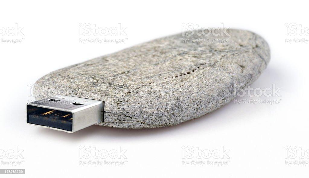 Stone Age Technology stock photo