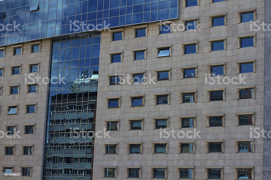 Stone and Glass royalty-free stock photo