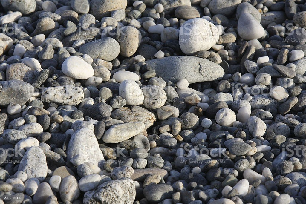 Stone and pebbles background royalty-free stock photo