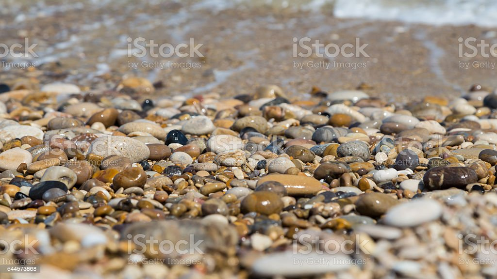 stone and sand stock photo