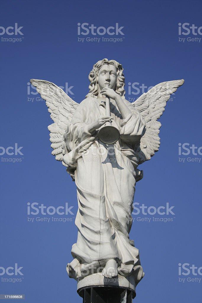 Stone angel   II royalty-free stock photo