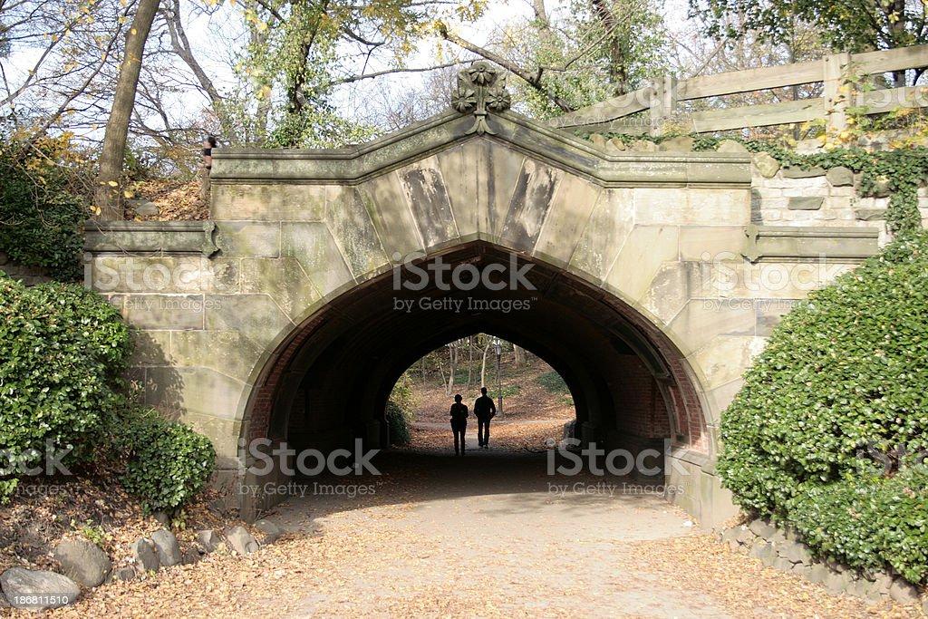 Stone Arch : Prospect Park, Brooklyn New York royalty-free stock photo