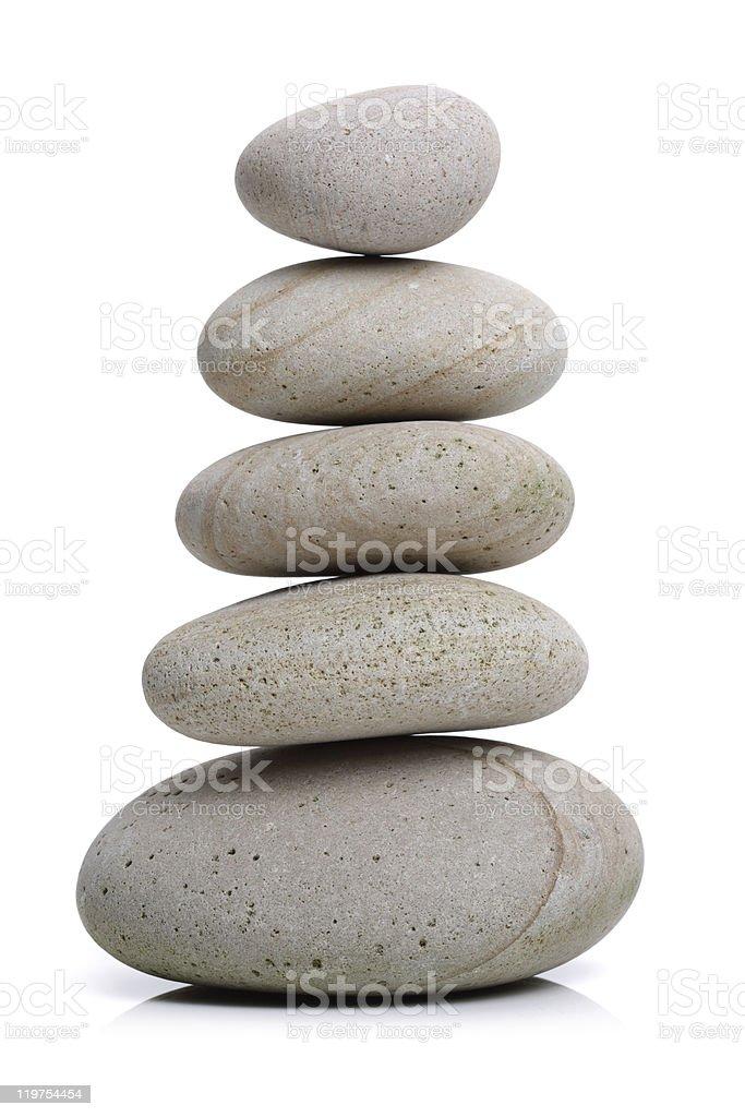 Stone balance stock photo