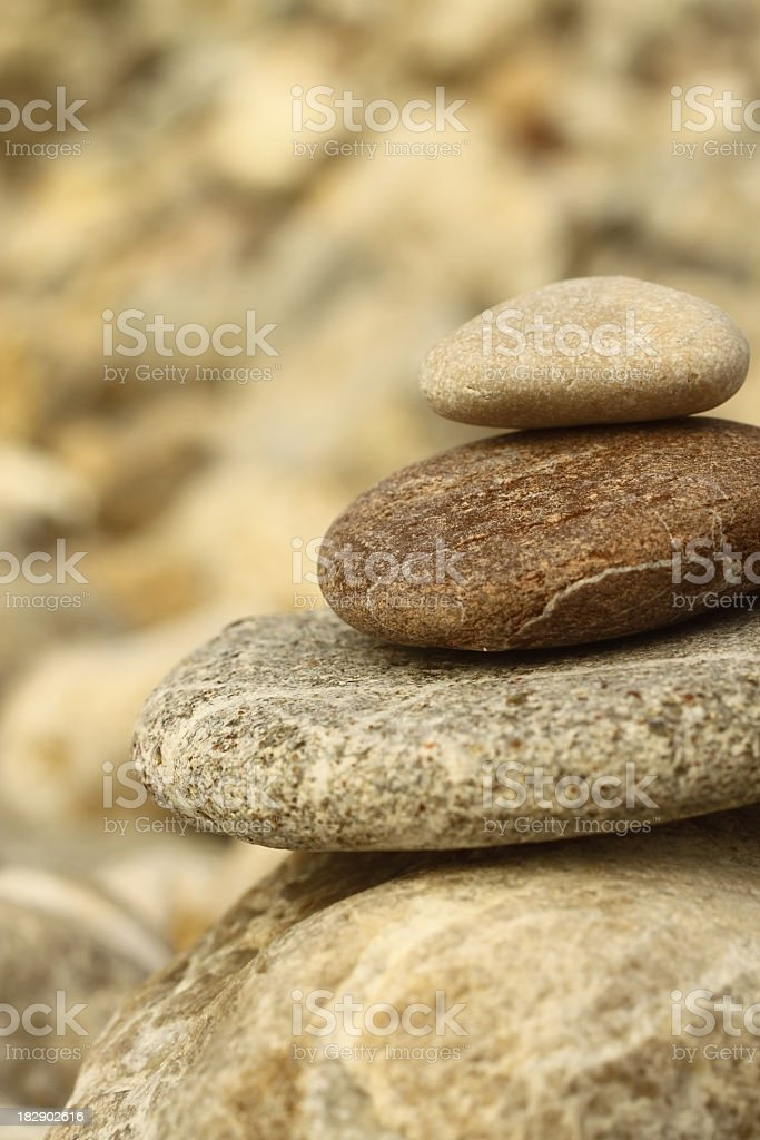 Stone balance royalty-free stock photo