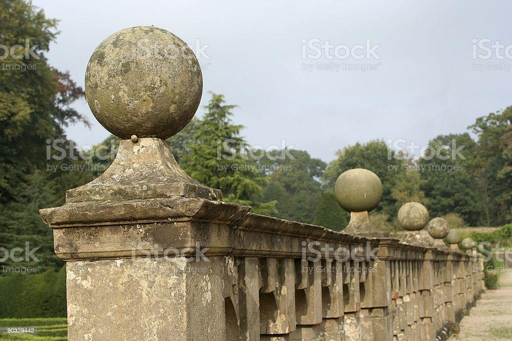 Stone ball royalty-free stock photo