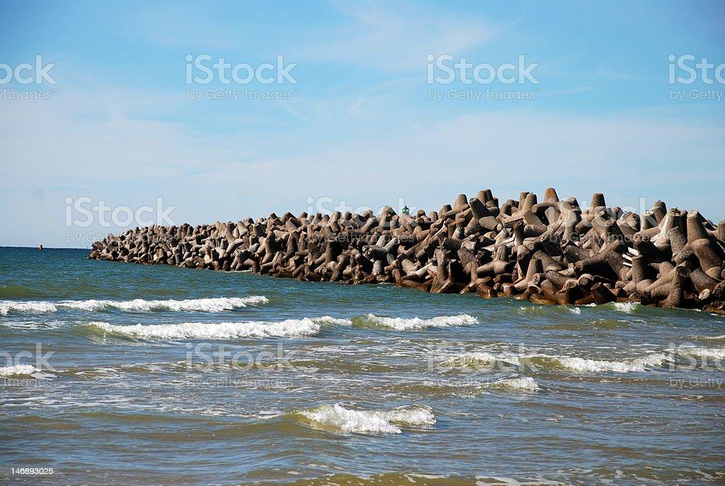 Stone breaker royalty-free stock photo