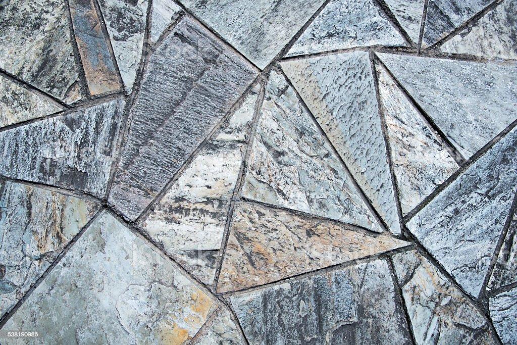 Stone brick pavement texture background stock photo