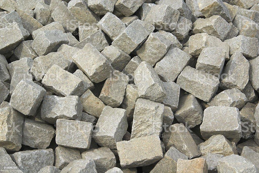 Stone bricks royalty-free stock photo