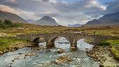 Stone bridge near Sligachan, Isle of Skye