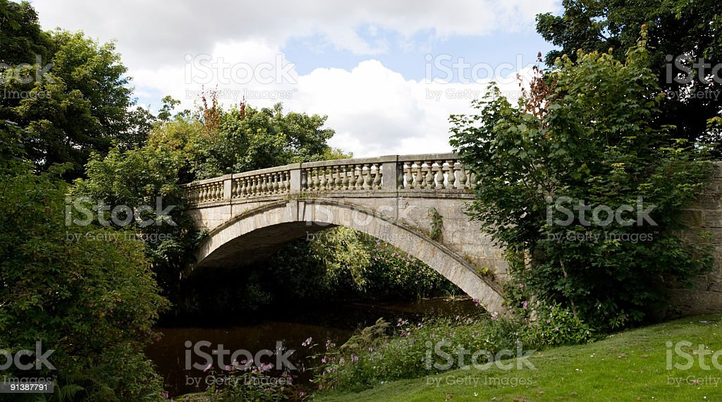 Stone Bridge royalty-free stock photo