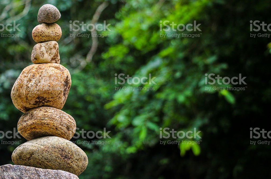 Stone Building stock photo