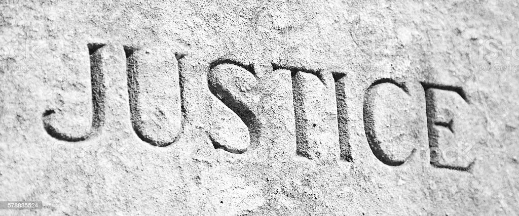 Stone Carved Word stock photo