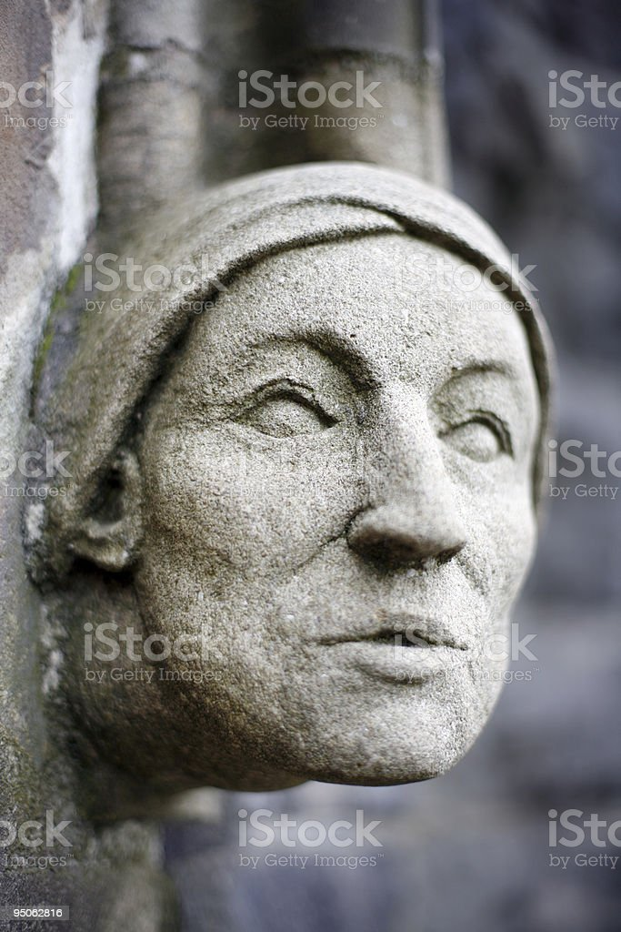 Stone Cathedral Ornaments stock photo