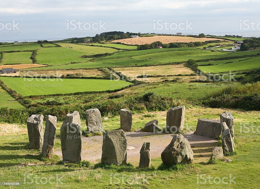 Stone Circle royalty-free stock photo