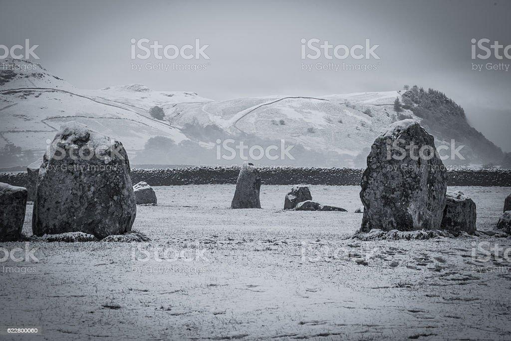 Stone Circle stock photo