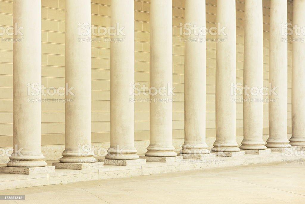 Stone Column Classic Greco Roman Architecture royalty-free stock photo
