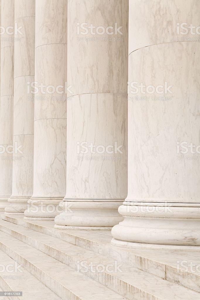 Stone columns royalty-free stock photo