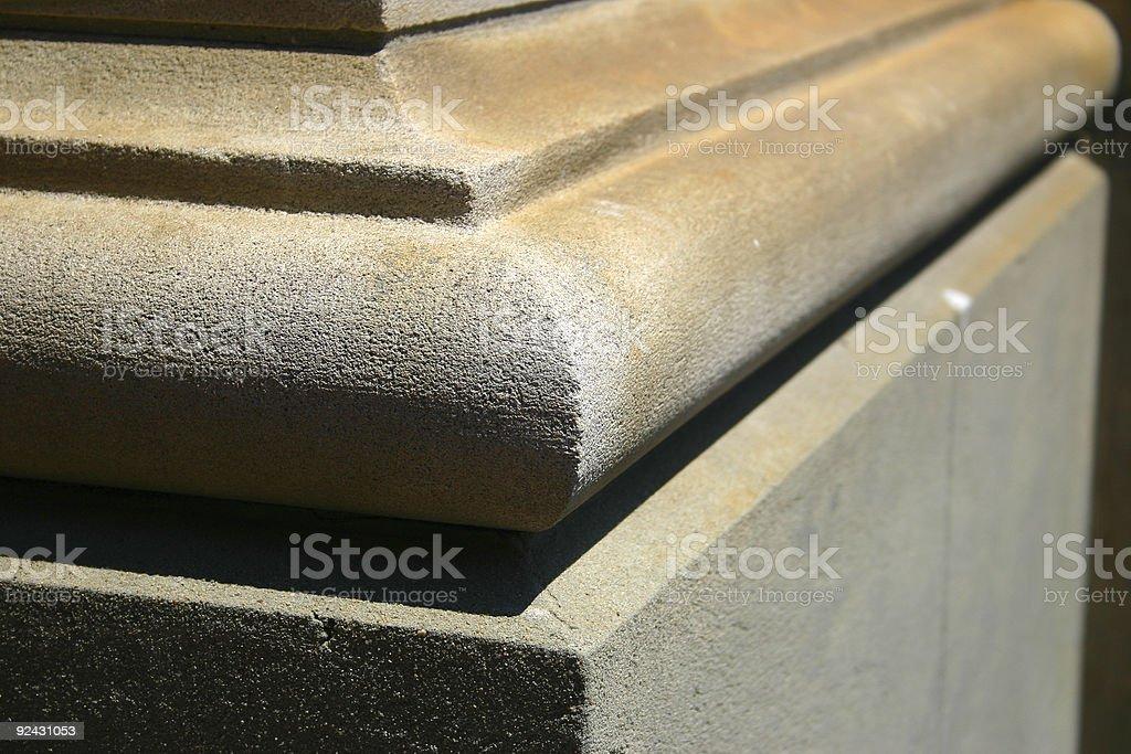 stone corner royalty-free stock photo