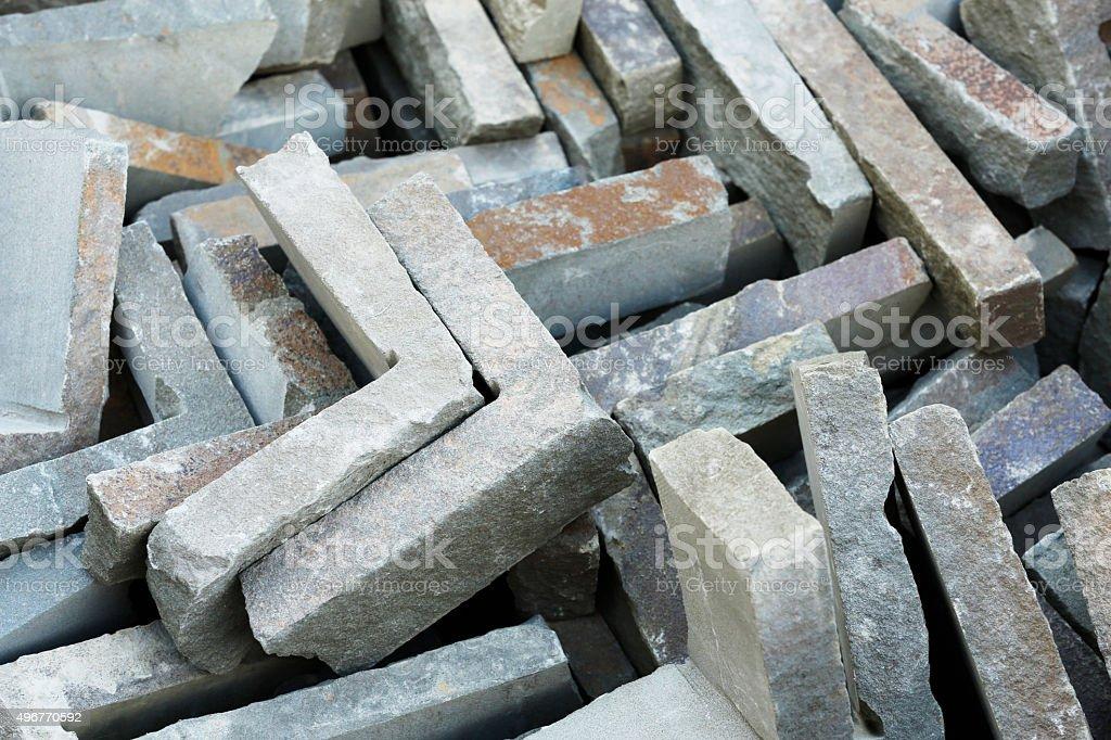 Stone Corners royalty-free stock photo
