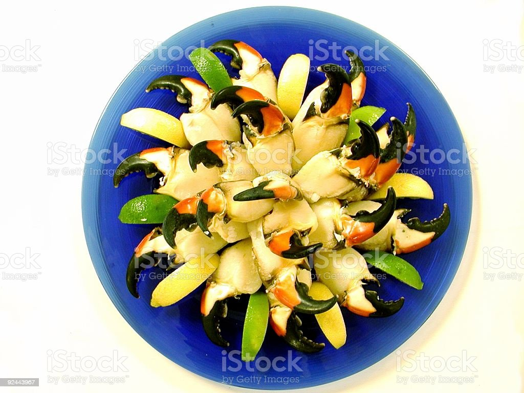 Stone Crab Claws royalty-free stock photo