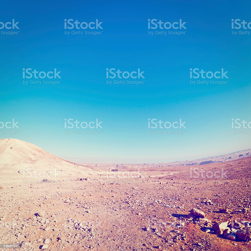 Stone Desert stock photo