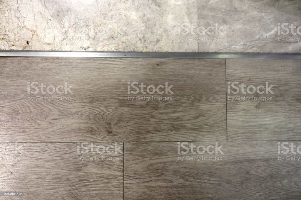 Stone Floor and wood Textures stock photo