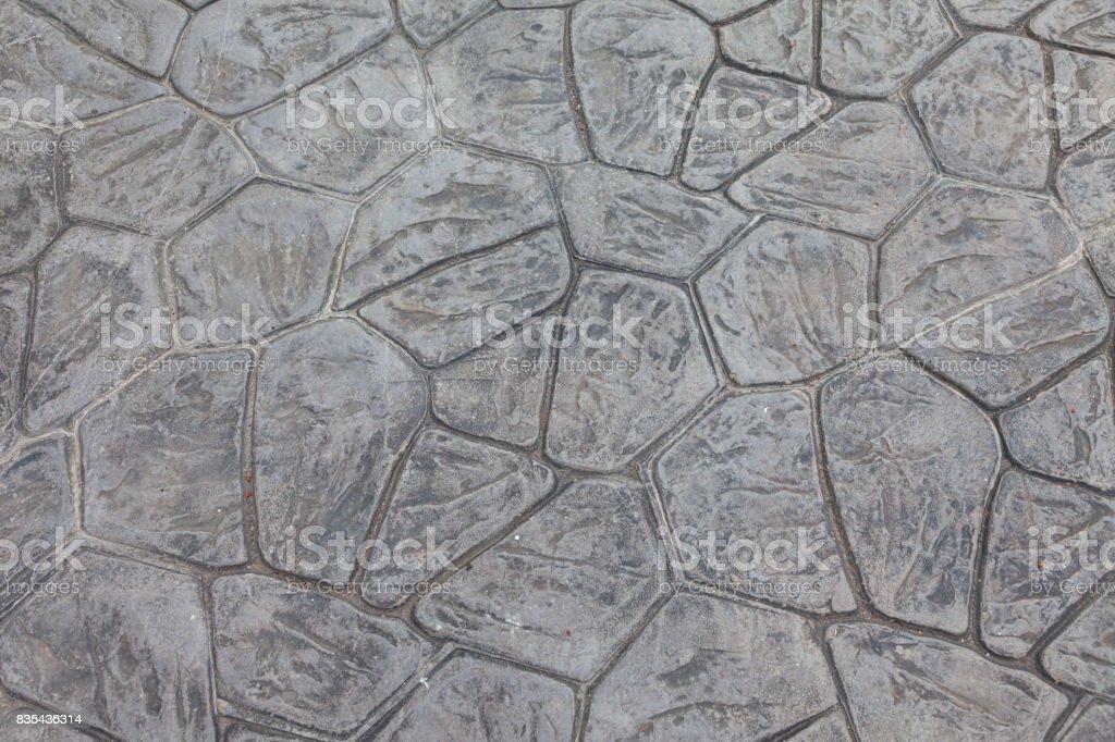 Stone floor stock photo