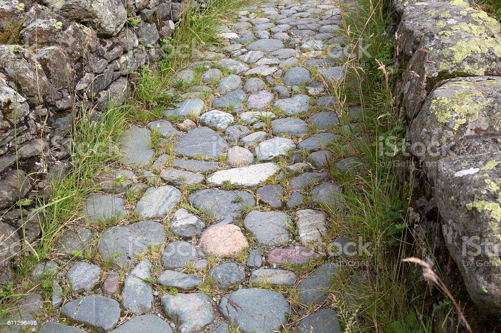 Stone Footpath, Watendlath; Lake District stock photo