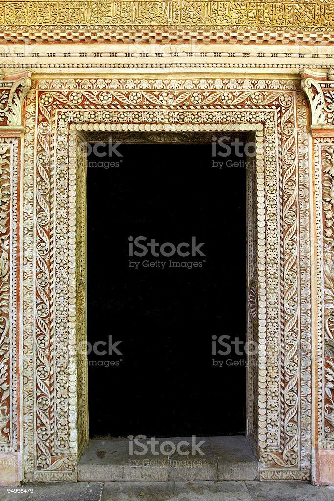 Stone frame royalty-free stock photo