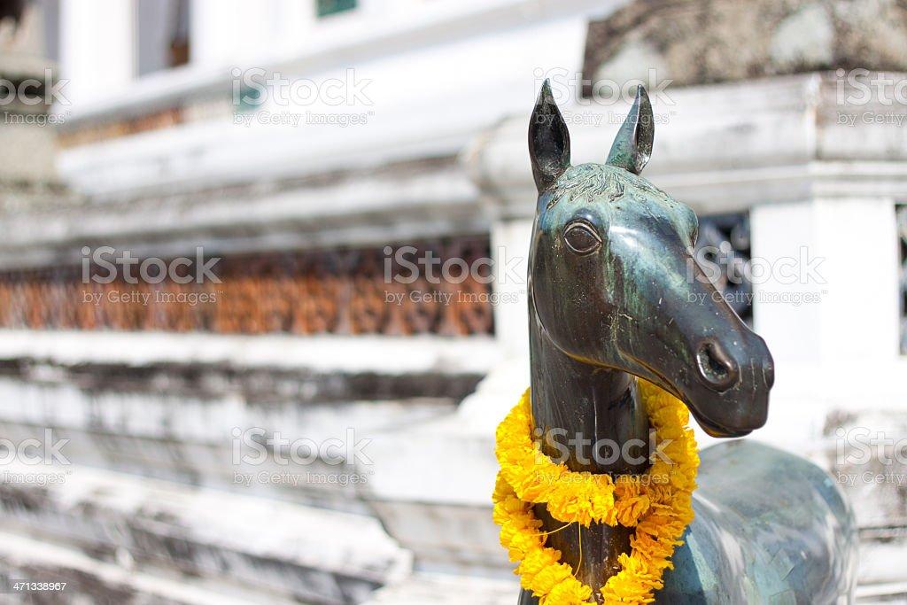 Stone Horse royalty-free stock photo